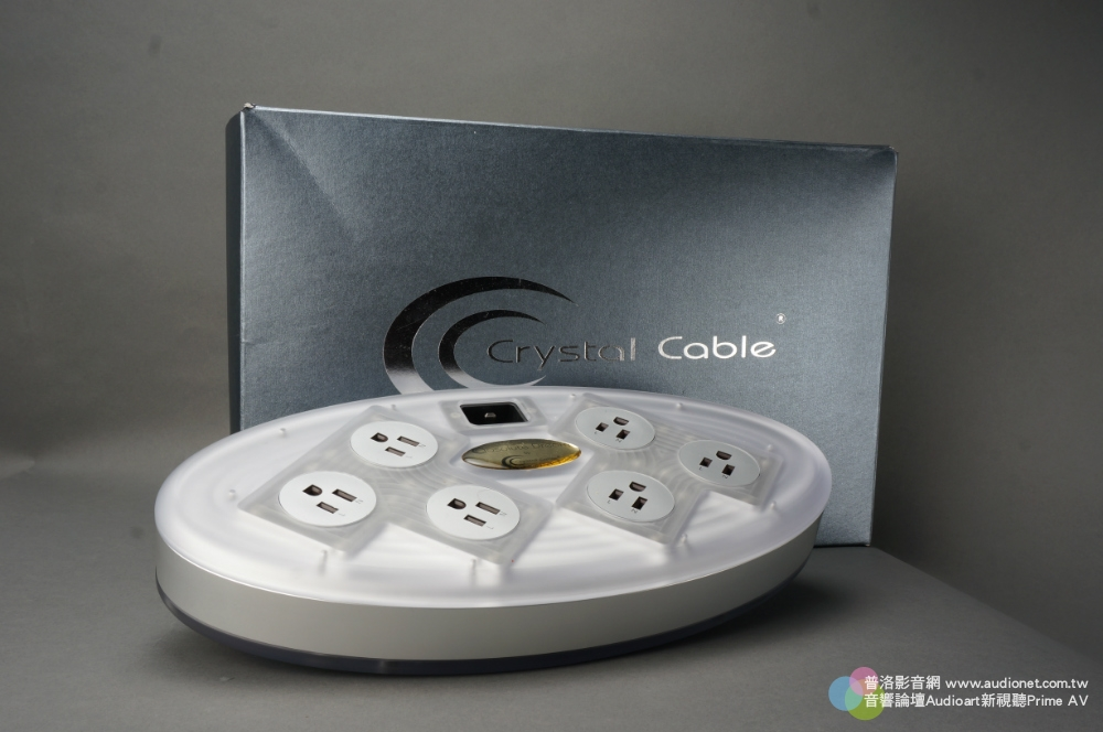 Crystal Cable PowerStrip Diamond,讓音樂充滿吸引力
