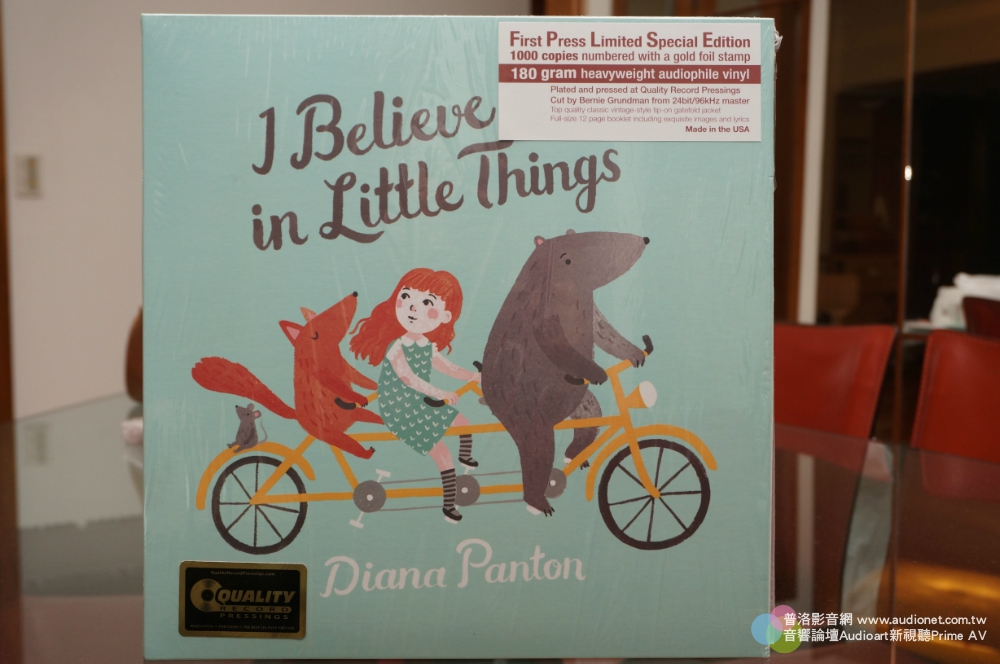 Diana Panton 的「Red」、「I Believe in Little Things」