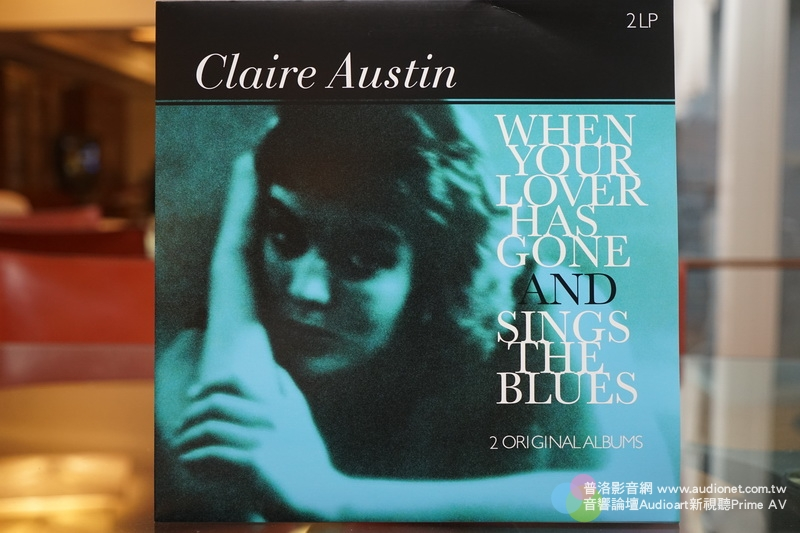 Claire Austin When Your Lover Has Gone, Sings The Blues