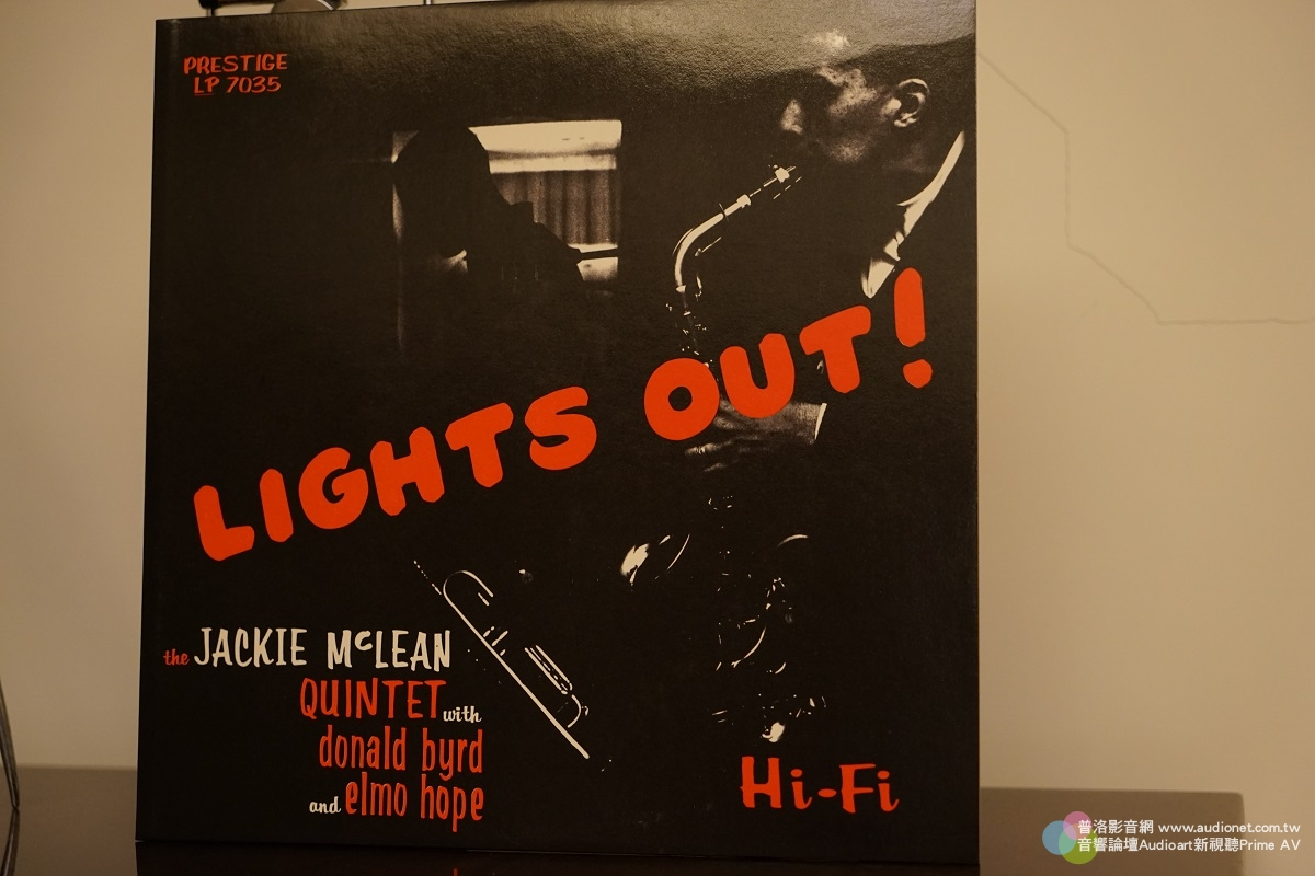 Lights Out Jackie McLean  Quintet Featuring Donald Byrd