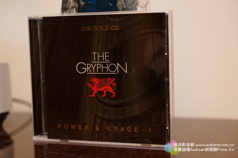 The Gryphon  Power & Grace. 1 24K Gold CD