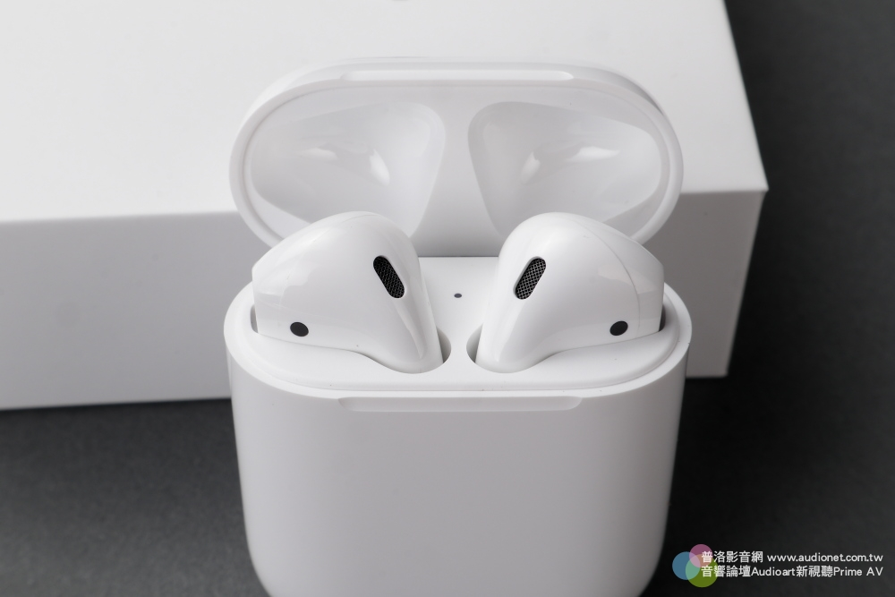 Apple Airpods無線耳機開箱