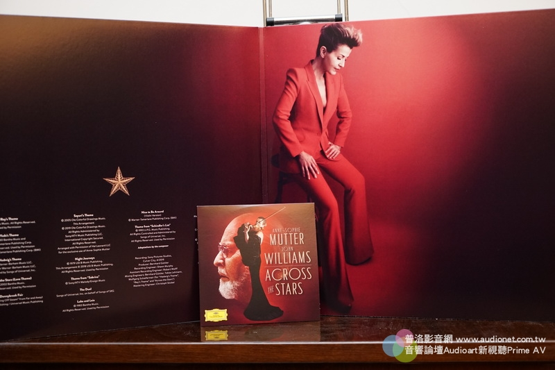 Mutter Williams Across the Stars二張黑膠送一張CD