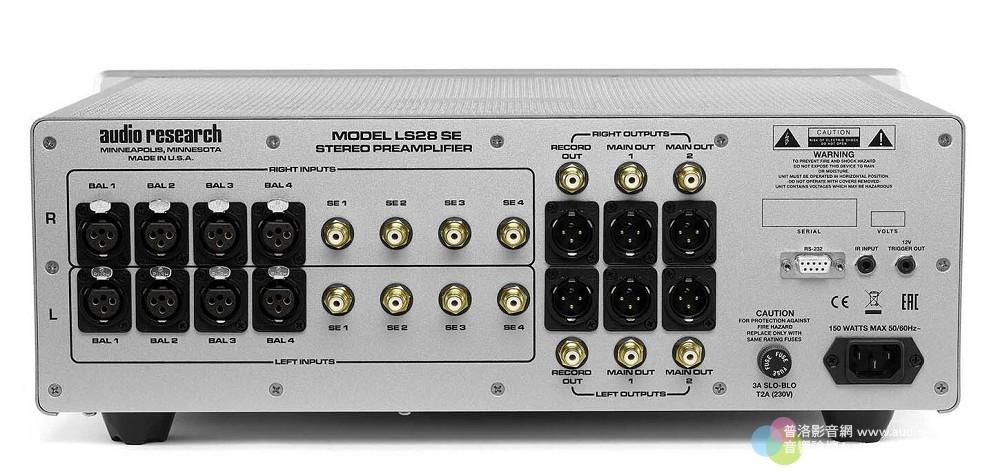 Audio Research LS28SE 真空管前級:ARC 50週年紀念特別版新機登場 Audio Research LS28SE _001.jpg Audio Research LS28SE 真空管 前級 鈦孚
