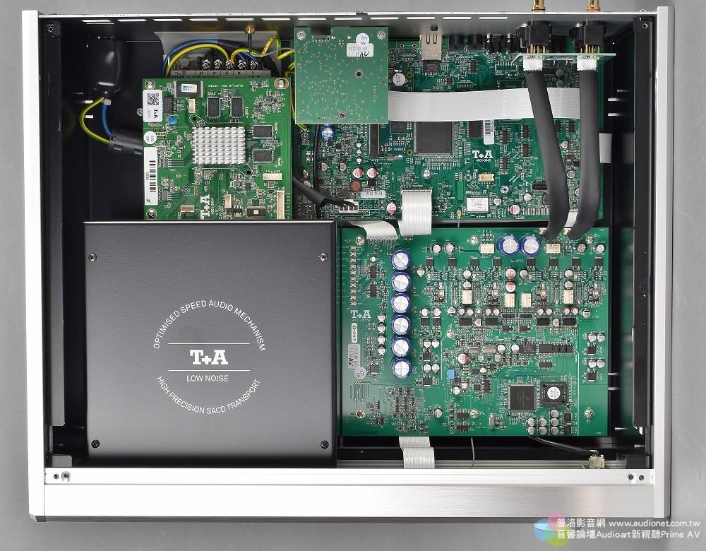 T+A MP 2500R 評測:採取純正PCM、DSD獨立數類轉換的全能數位訊源 T+A MP 2500R_006.jpg 鈦孚 MP 2500R SACD唱盤 串流播放機 USB DAC Hi-Res DSD 評測
