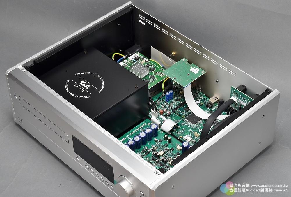 T+A MP 2500R 評測:採取純正PCM、DSD獨立數類轉換的全能數位訊源 T+A MP 2500R_005.jpg 鈦孚 MP 2500R SACD唱盤 串流播放機 USB DAC Hi-Res DSD 評測