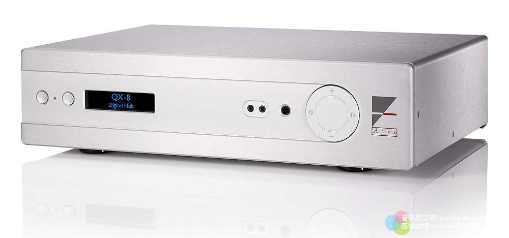 Ayre QX-8 Digital Hub Ayre QX-8 _002.jpg 鈦孚 Ayre QX-8 數類轉換器 前級 Hi-Res DSD